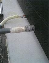 給排水の接続写真2