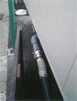給排水の接続写真3